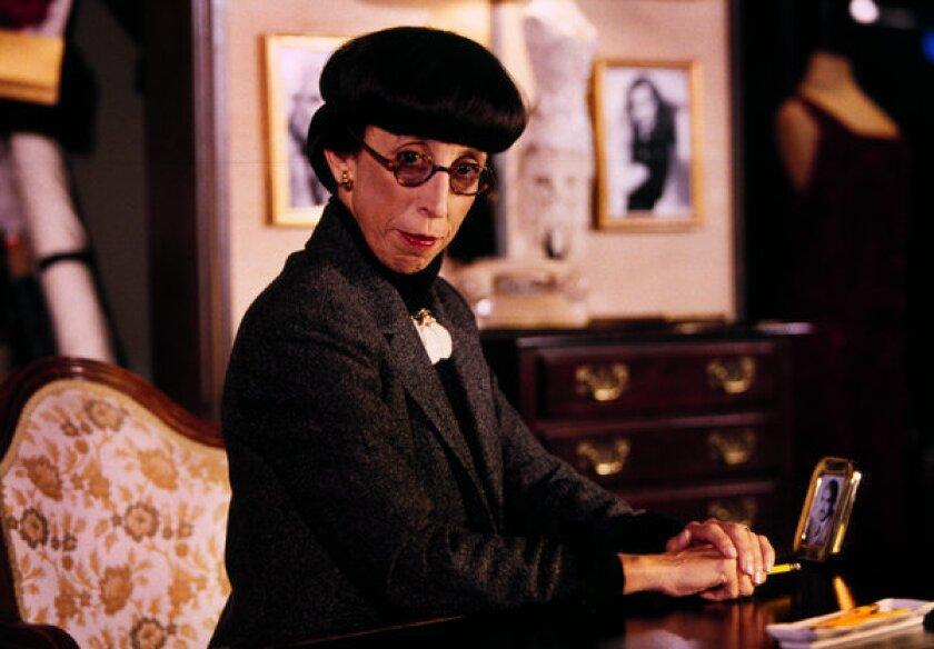 Review: A dishy 'Conversation With Edith Head' at Pasadena Playhouse