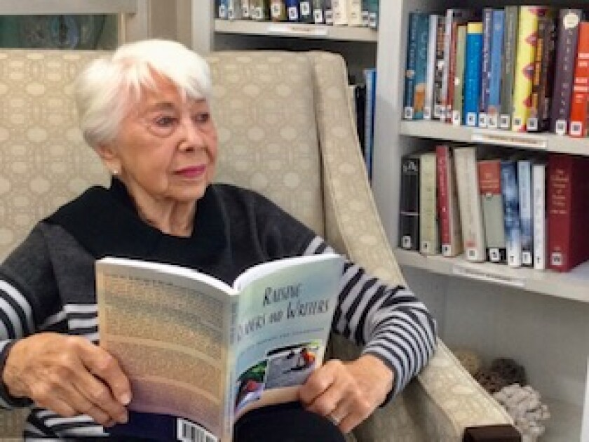 La Jolla resident Lenore Ringler has published her third book to help parents encourage literacy in their children.