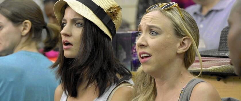"""Bridey Elliott, left, and Clare McNulty in """"Fort Tilden."""""""