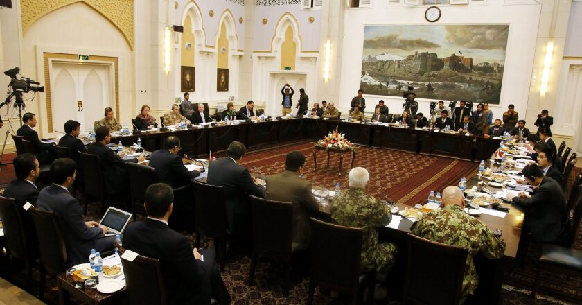 Peace discussions in Kabul