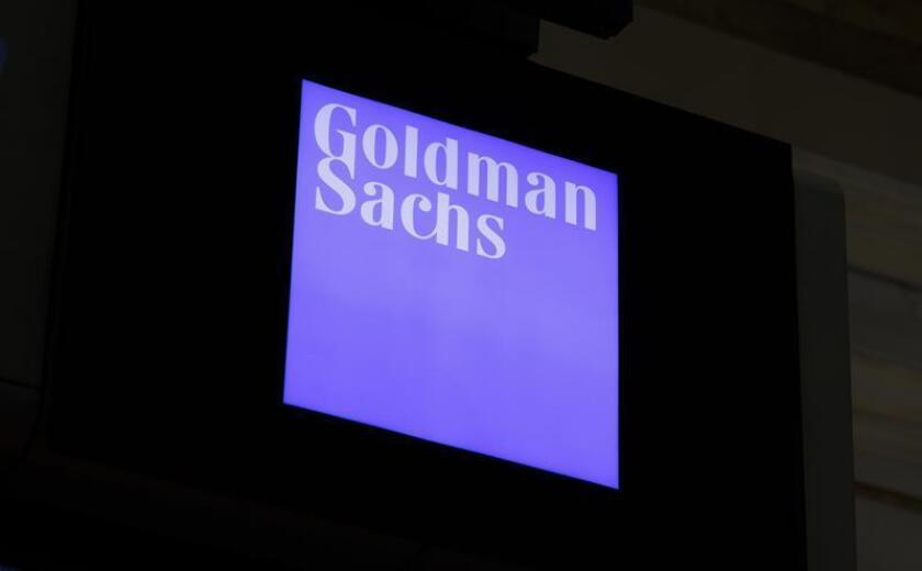 A view of a sign for Goldman Sachs. EFE/EPA/FILE