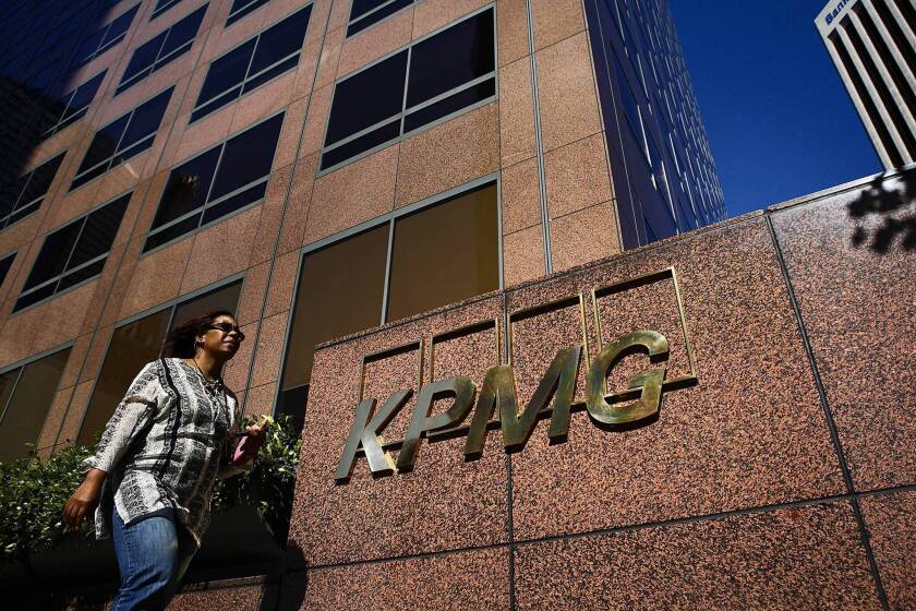Fired KPMG auditor can't explain 'lapse of judgment'