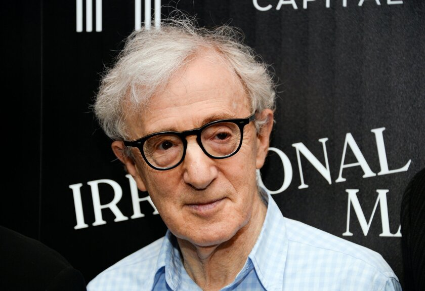 "FILE - In this July 15, 2015 file photo, director Woody Allen attends a special screening of ""Irrational Man"", in New York. Amazon said Thursday, Feb. 18, 2016, that it will distribute Allen's currently untitled film in a traditional theatrical release this summer, followed by a streaming release t"