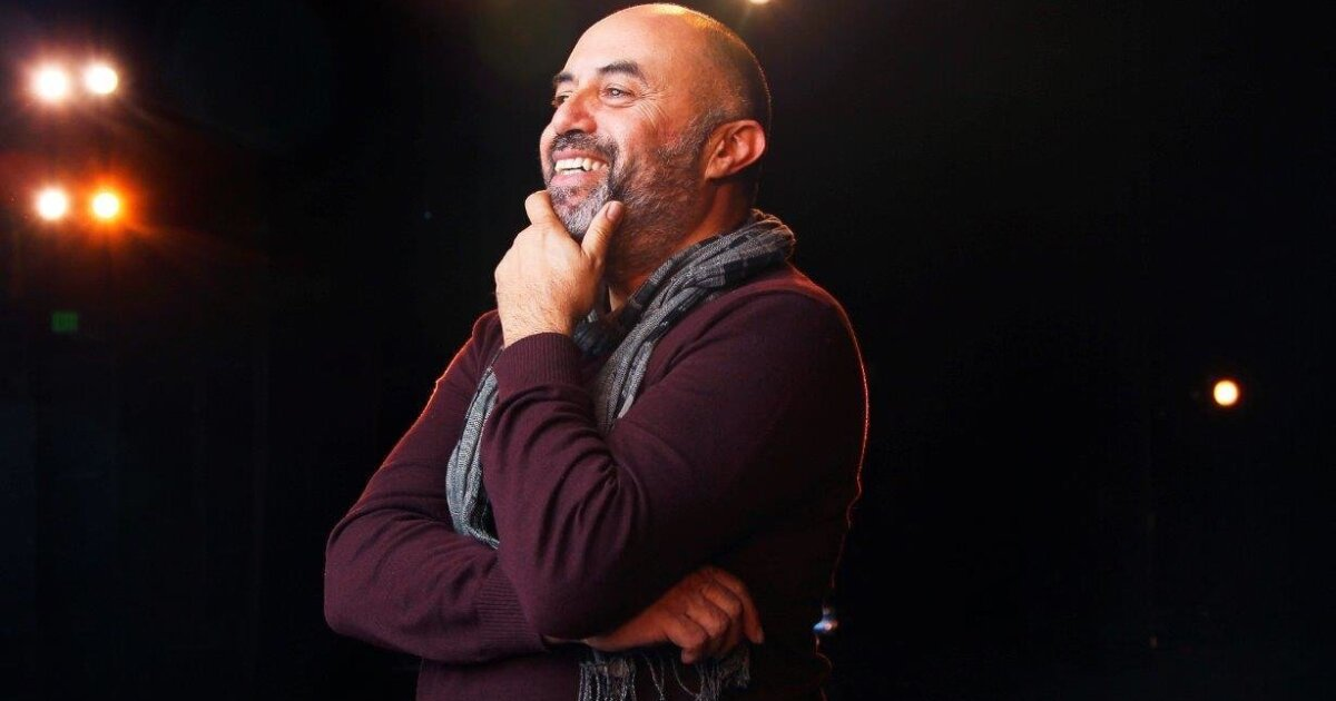Playwright Herbert Siguenza making connections with his daily 'Lunch Breaks' sessions
