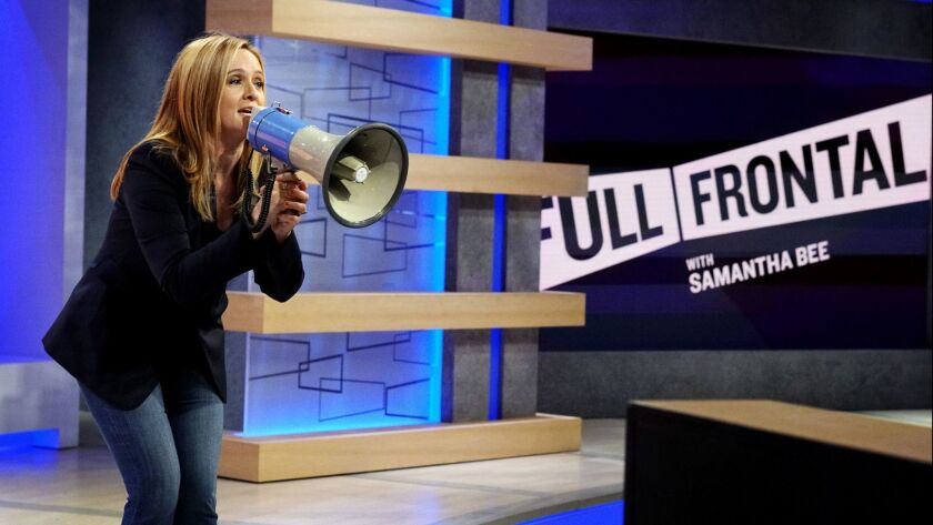 """Samantha Bee on """"Full Frontal."""""""