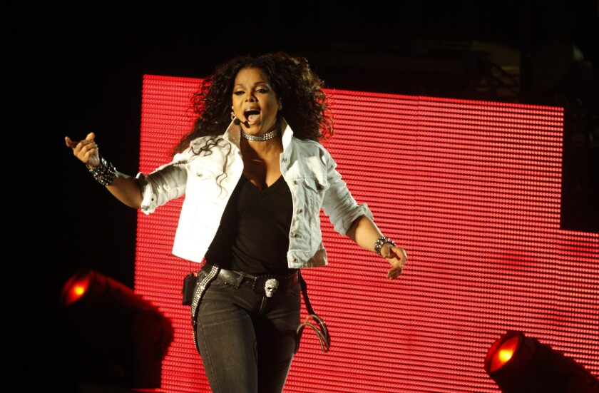 Janet Jackson performs at the Greek Theater in September 2011. She has a new album due out this fall.