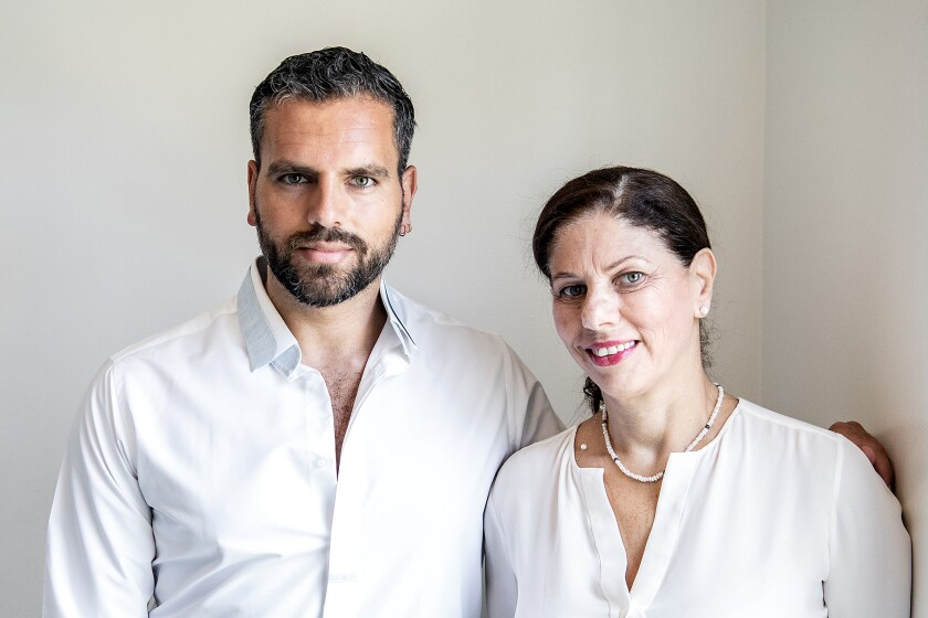 Fouad Georges and Lina Georges, the mother-son team behind Mama Lina Cooks.