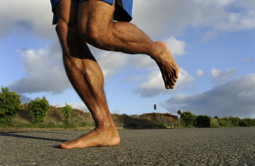 "The popularity of barefoot running is cresting again, thanks largely to last year's book ""Born to Run"" by Christopher McDougall."