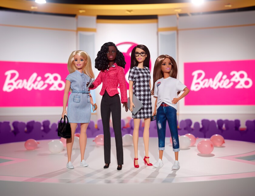 Barbie's Campaign Team set