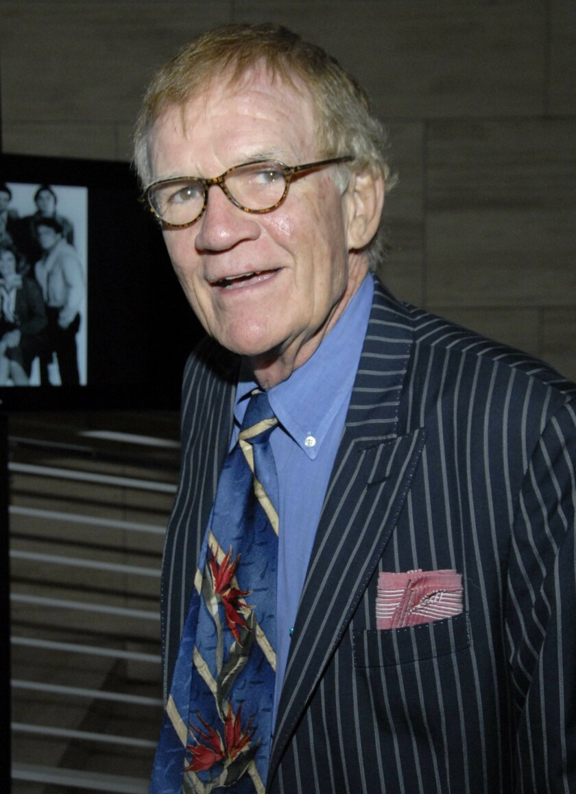 """FILE - In this Sept. 5, 2007 file photo, actor Jack Riley poses at the TV Land 35th anniversary celebration of """"The Bob Newhart Show"""" in Beverly Hills, Calif. Riley, who played counseling client Elliot Carlin on """"The Bob Newhart Show"""" and also voiced a character on Nickelodeon's animated """"Rugrats,"""""""