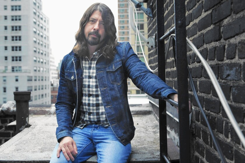 """Dave Grohl and the Foo Fighters hitchhike a ride on the legacy of others on """"Sonic Highway."""""""