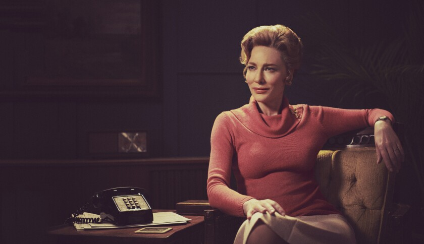 """Cate Blanchett as Phyllis Schlafly in """"Mrs. America""""."""