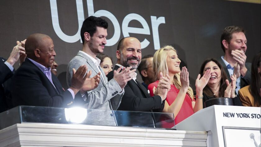 Uber IPO falls flat in worst first-day showing of tech unicorns this year