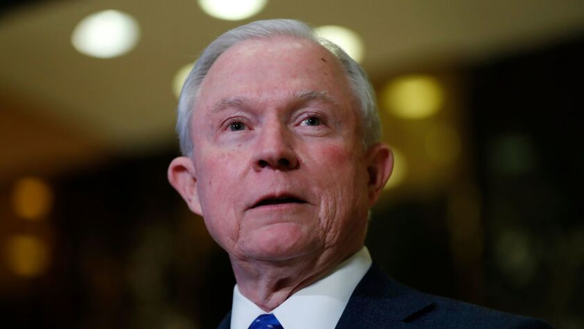 Sen. Jeff Sessions is Donald Trump's nominee for attorney general.