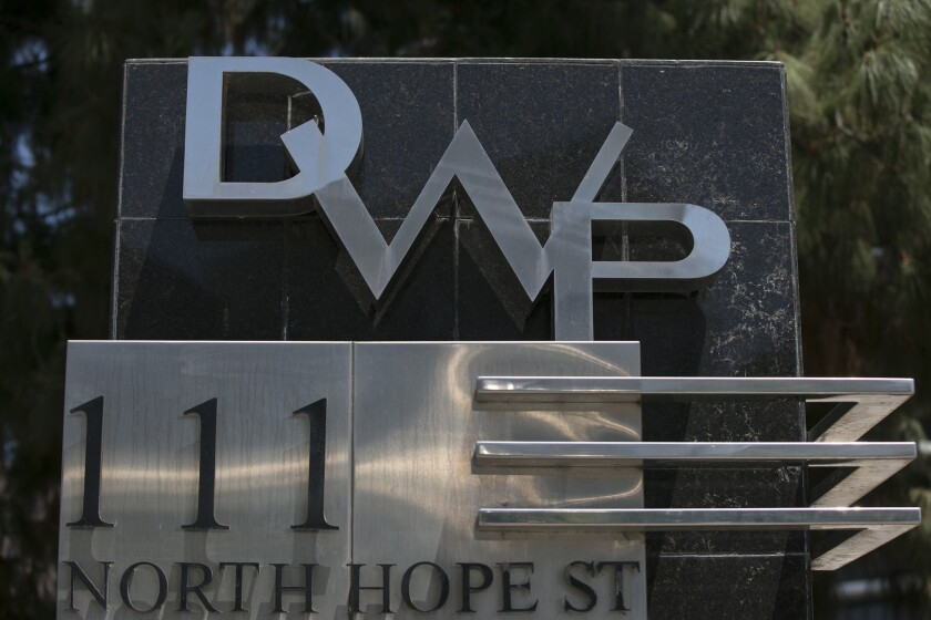 Sign on DWP Building