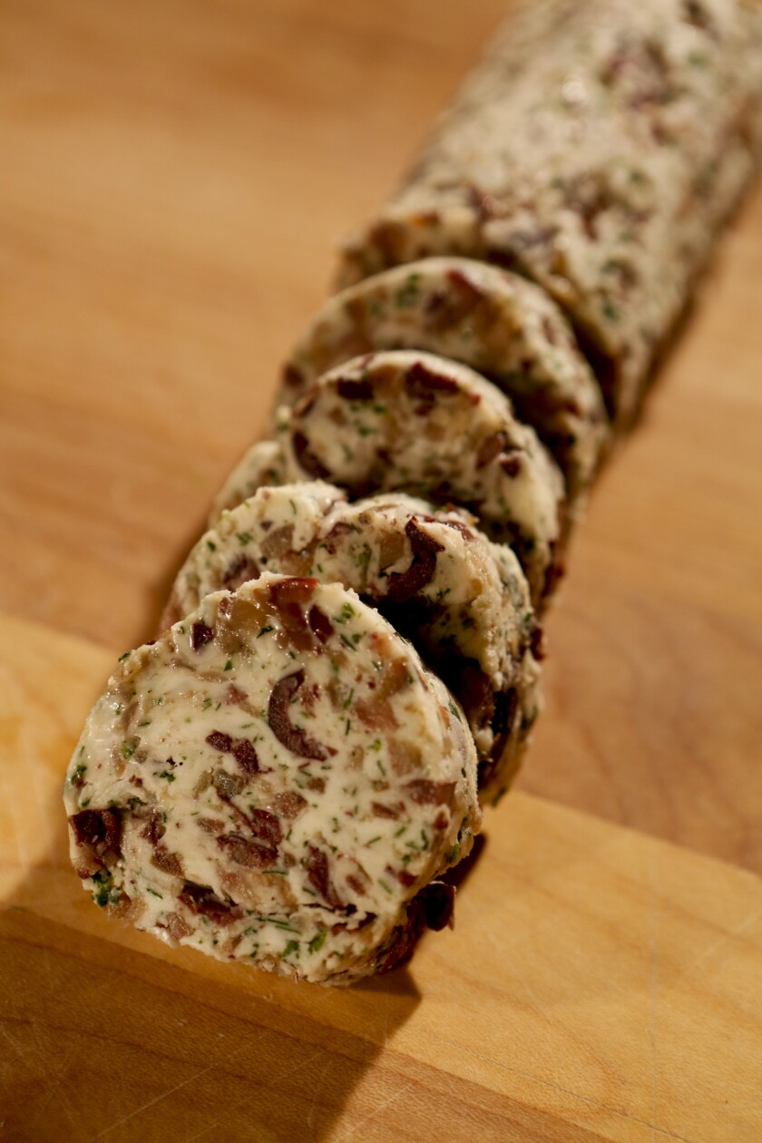 Anchovy butter recipe just takes 15 minutes, plus cooling and chilling times. Recipe: Anchovy butter