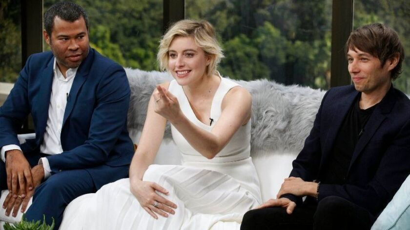 Directors such as Jordan Peele, left, Greta Gerwig and Sean Baker could become critics too, reader says.