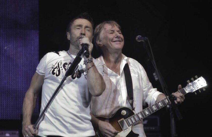 Paul Rodgers and Mick Ralphs of Bad Company.
