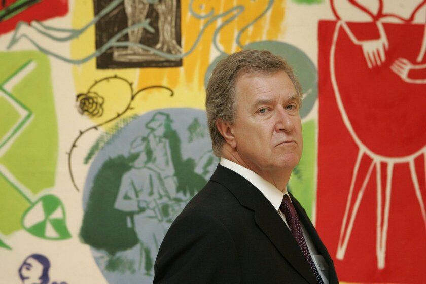 September 25, 2008, San Diego, CA_ HUGH DAVIES, director of the Museum of Contemporary Art in La Jolla on Thursday, Sept. 25, 2008. Mandatory Credit: Photo by K.C. Alfred/The San Diego Union-Tribune/Zuma Press. copyright 2008 San Diego Union-Tribune
