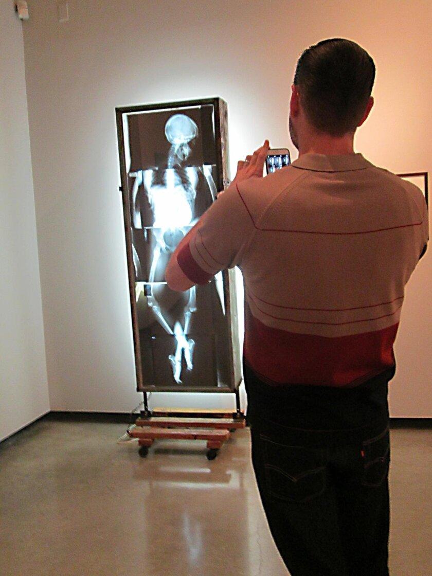 Javier Galaviz's X-ray light box