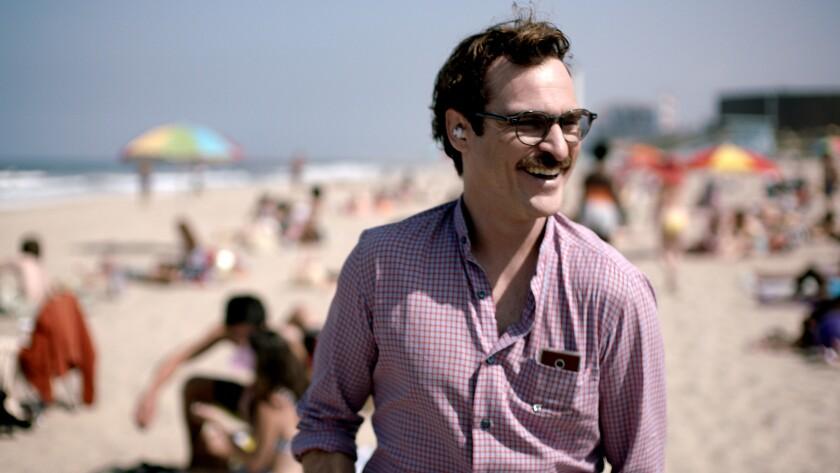 "Joaquin Phoenix in a scene from ""Her."""