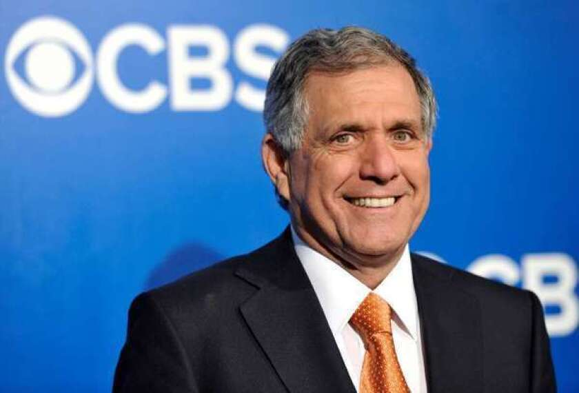 CBS Chief Executive Leslie Moonves says the network has to make money through advertising in order to provide quality programming.