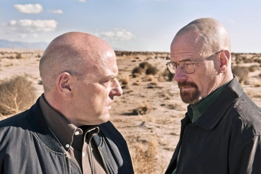 Why AMC's 'Breaking Bad' is the new novel