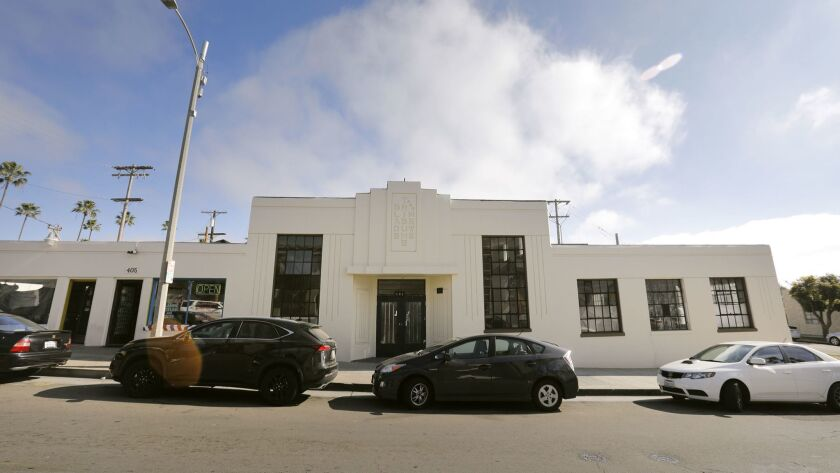 OCEANSIDE, CA: FEBRUARY 9, 2018: The building once occupied by the Oceanside Blade-Tribune and New