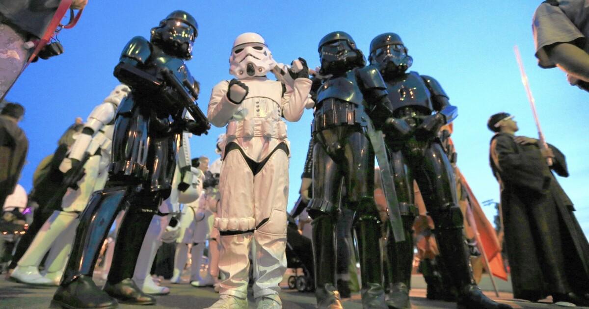 Death Trooper Star Wars Battle Stormtrooper Fancy Dress Halloween Child Costume