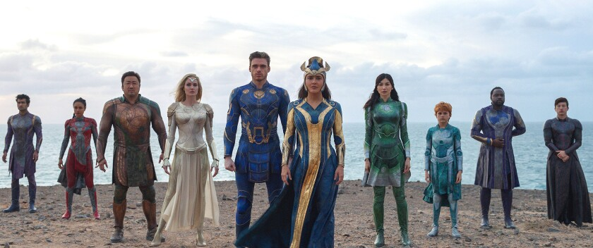 Eternals Review: Chloé Zhao Makes a Marvel Movie Like No Other