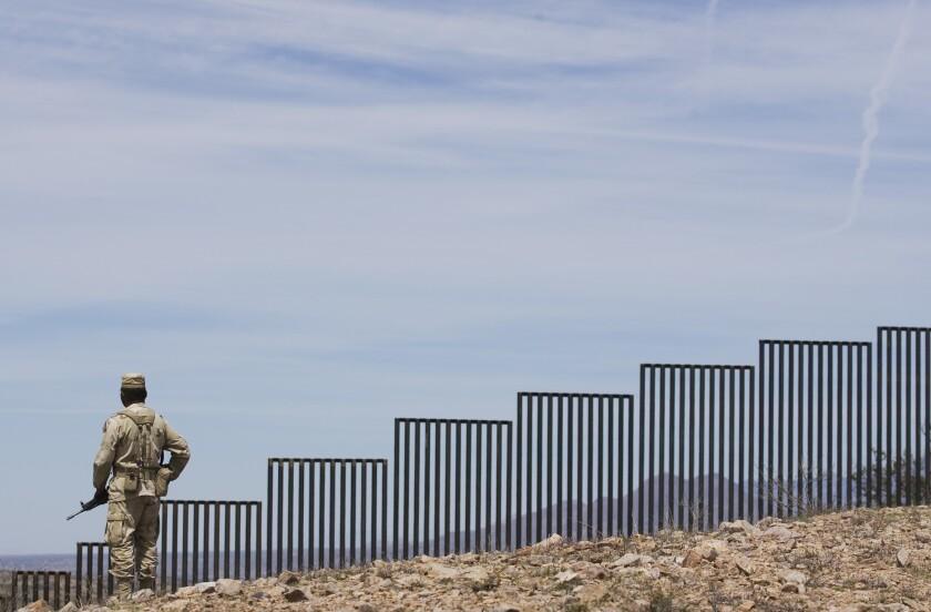 Nogales border wall