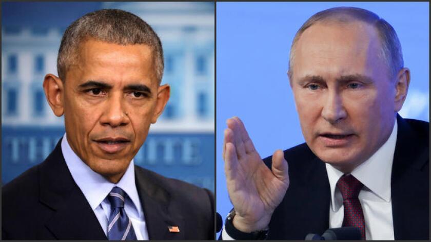 Obama ha acusado a Putin personalmente, diciendo muy poco de lo que sucede en el gobierno ruso no tiene conocimiento Putin.