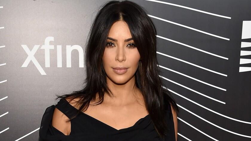 Kim Kardashian at the 2016 Webby Awards.
