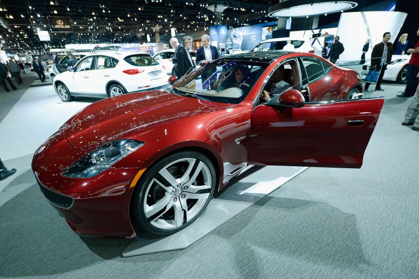 A company buying the assets of Fisker Automotive hopes to relaunch sales of the Karma sports car.