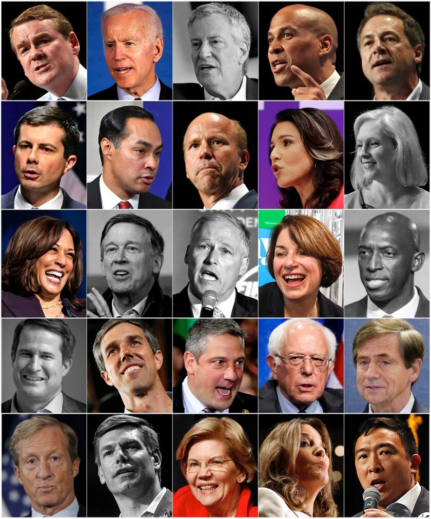 2020 presidential hopefuls