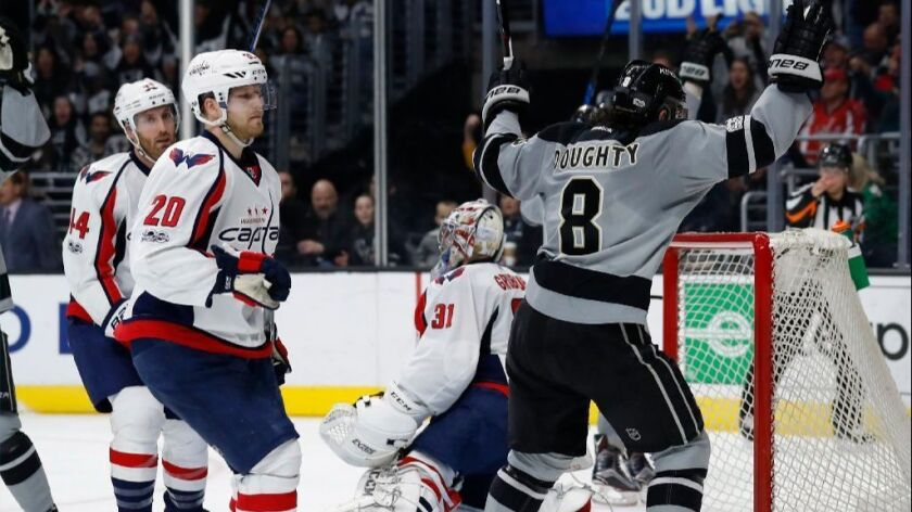 Kings reignite their playoff hopes with win over Capitals, 4-2