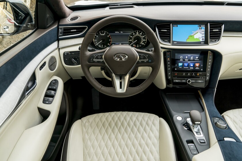 The INFINITI QX50 is defined by distinctive proportions which set the car apart from its competitors