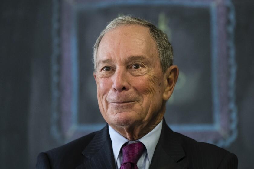 Former New York Mayor Michael R. Bloomberg is considering entering the presidential race.
