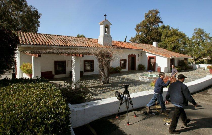 Camp Pendleton's historic Ranch House Chapel