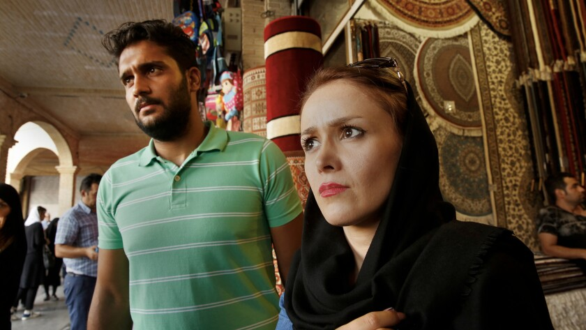 """""""Since the sanctions were lifted, things have become even worse,"""" said Behnaz Abbasi, a 26-year-old accountant with her finace at Tehran's Grand Bazaar."""