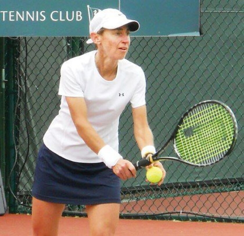 Frances Chandler (Jackson, Tenn.) is returning to defend her singles title in the women's 50s. Last year, she defeated Tracy Houk of Half Moon Bay, Calif. in the Women's 50s singles final. Courtesy photos
