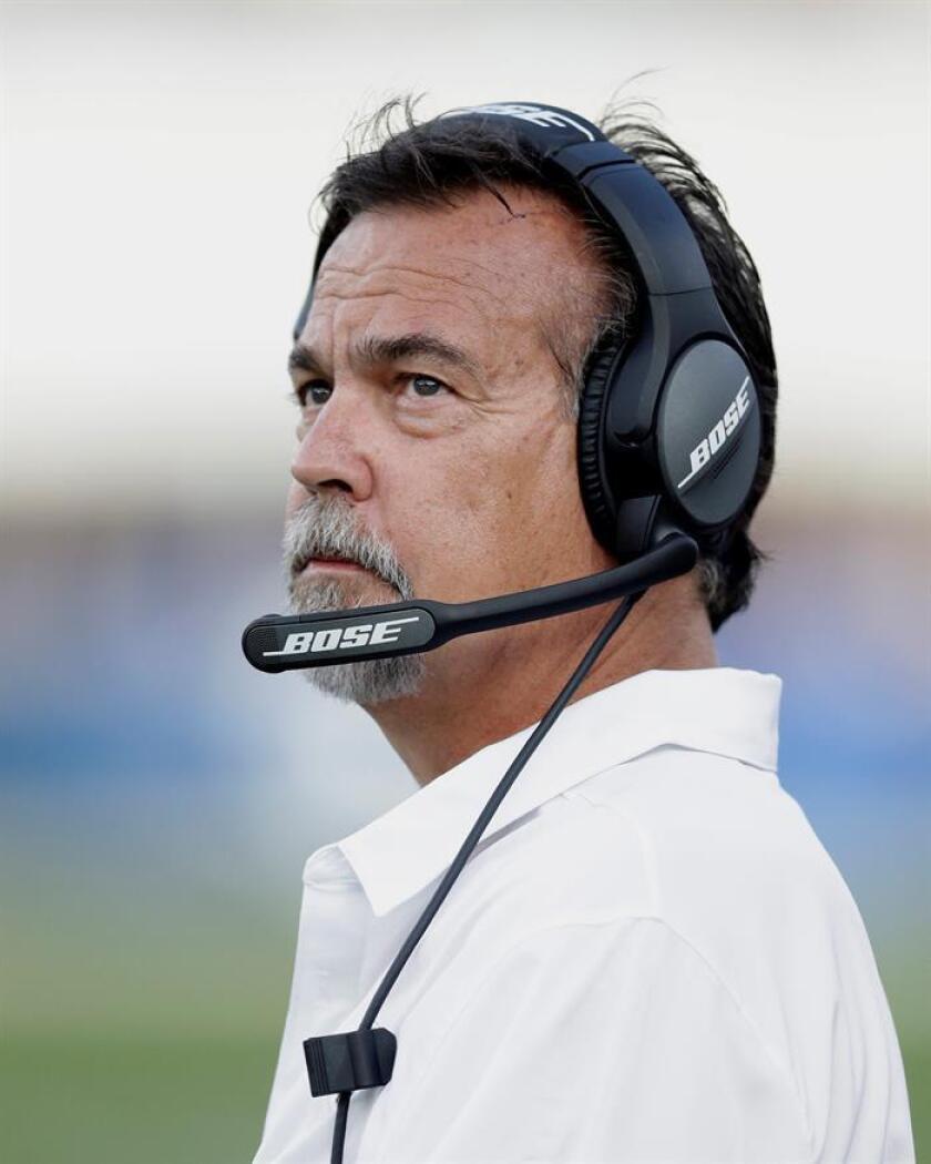 Esta vez, Fisher no sobrevivió la primera temporada de los Rams tras su reubicación en Los Ángeles, donde el equipo ha tenido un desempeño muy mediocre en todas las facetas del juego. EFE/Archivo