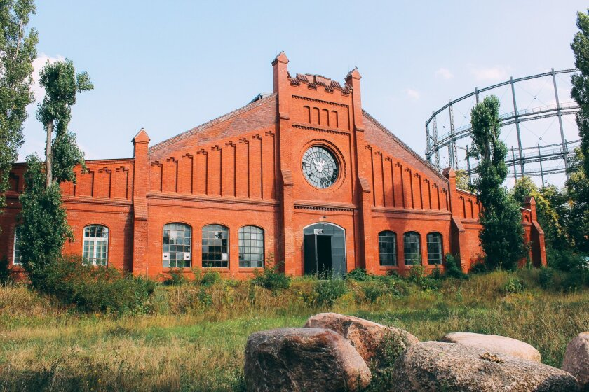 Stone Brewing's new facility going up in Berlin.
