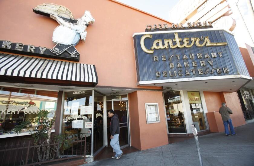 Canter's Deli on Fairfax.