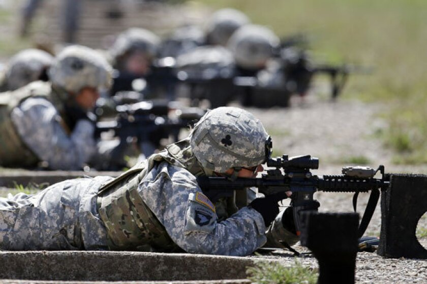 Pew poll: Americans largely support women in military combat