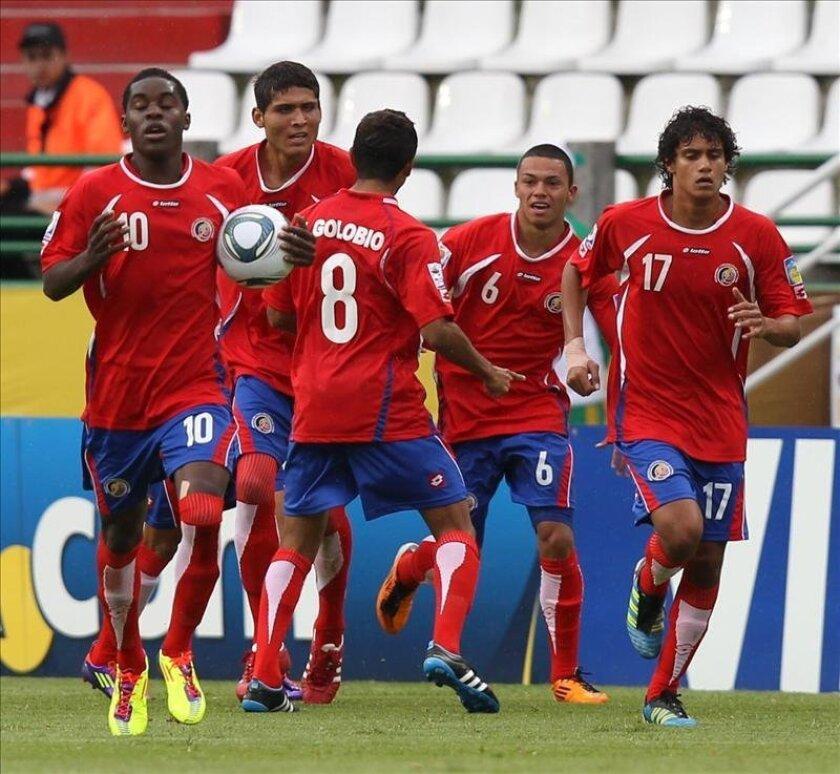 Los partidos ante Honduras, México y Panamá corresponden a las jornadas 4, 5 y 6 del hexagonal final de la Confederación Norte, Centroamérica y el Caribe de Fútbol (Concacaf) rumbo al Mundial Brasil 2014. EFE/Archivo