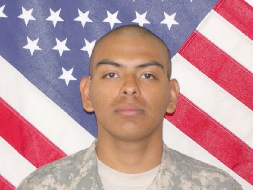 Army Spec. Armando De La Paz Jr. had an interest in literature. A high school reading program could be named in his honor.