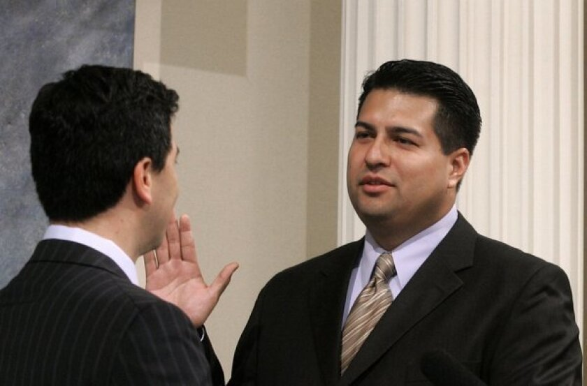 Termed-out Fuentes stays on Assembly payroll while running for council