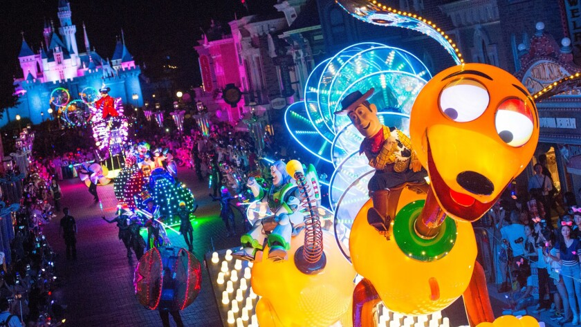 "The ""Paint the Night"" parade coming to Disneyland will feature 1.5 million LED lights."