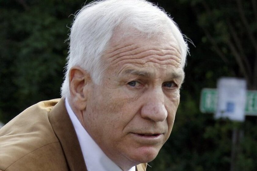 Jerry Sandusky victim unhappy with sanctions placed on Penn State